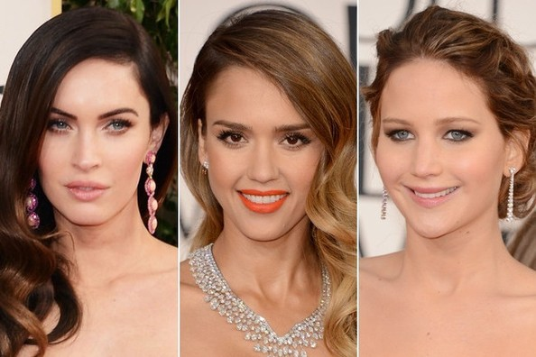 Golden Globe Awards 2013 - Best Beauty Looks