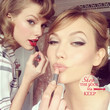 Taylor and Karlie Get Beautified Together