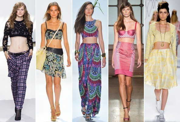 Spring 2013 Runway Trend: Crop-Tops and Bralettes