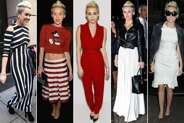 Miley Cyrus' Unstoppable Fashion Week Style