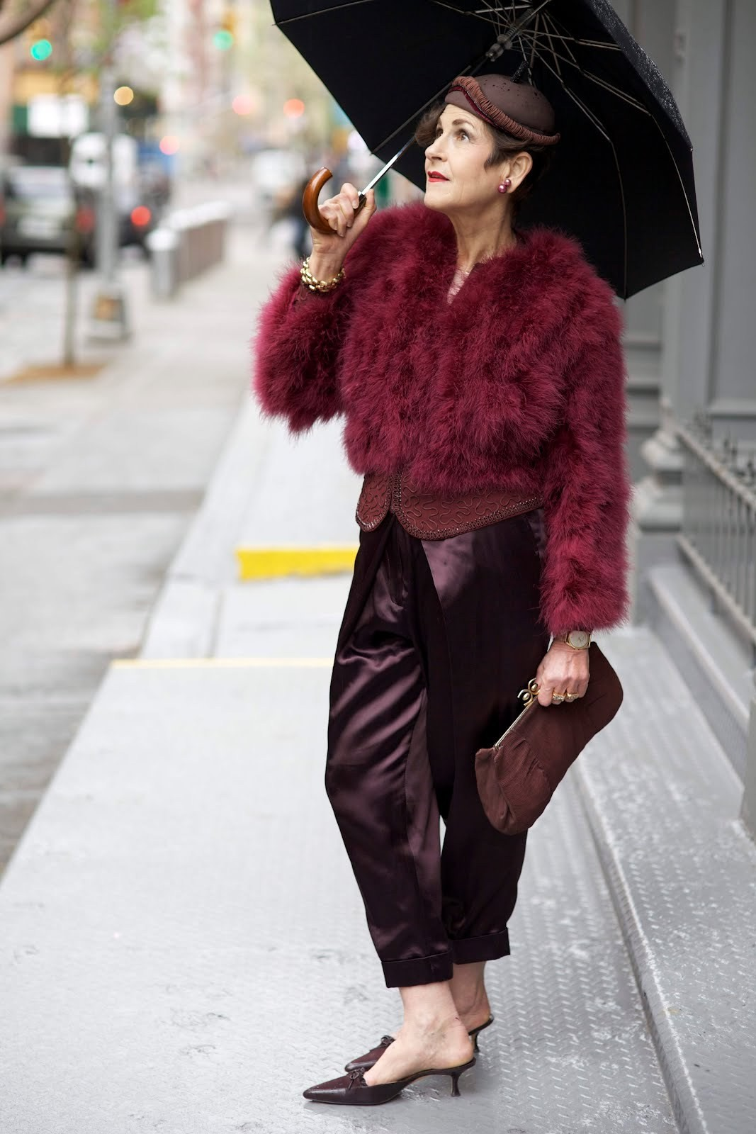 Tziporah Salamon in <em>Advanced Style</em>; <em>Source: Ari Seth Cohen, New York </em><em>City</em>