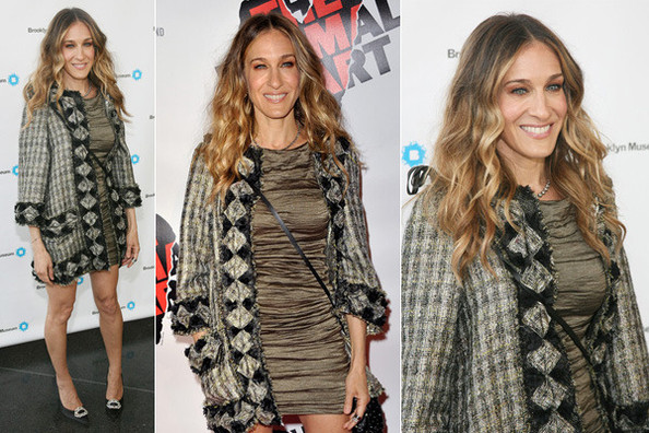 Look of the Day: Sarah Jessica Parker in Chanel and Lanvin
