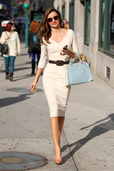 How to Get Miranda Kerr's Little White Dress Look