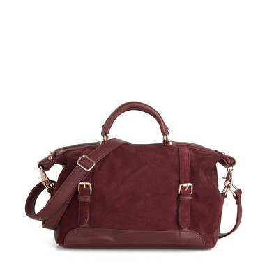 "ModCloth's ""Ask for the Maroon"" Bag"