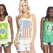 Wet Seal World Cup Tanks