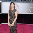 Sandra Bullock Wore Elie Saab at the 2013 Oscars