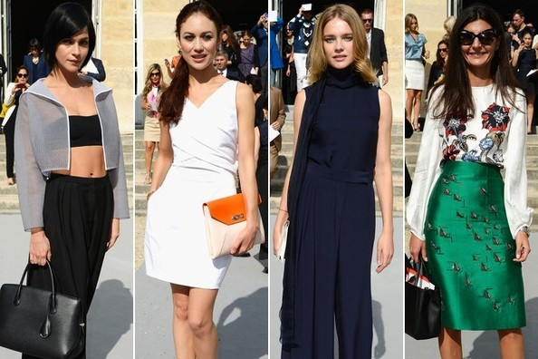 Front Row Fashion at Christian Dior's Spring 2014 Show
