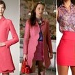 Leighton Meester's Scalloped Coat and Colorful Blouse on 'Gossip Girl'