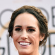 Louise Roe's Fishtail Updo and Neutral Lip