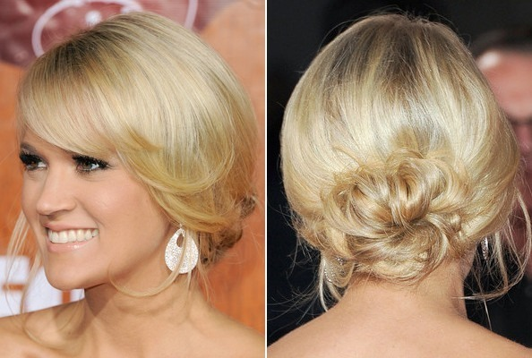 Carrie Underwood's Looped Bun