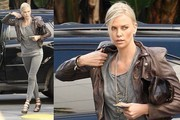 Charlize Theron's Paige Jeans Hug Her Every Curve, Gap Crafts Black Magic