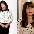 Zooey Deschanel's Polka Dot Sweater on 'New Girl'