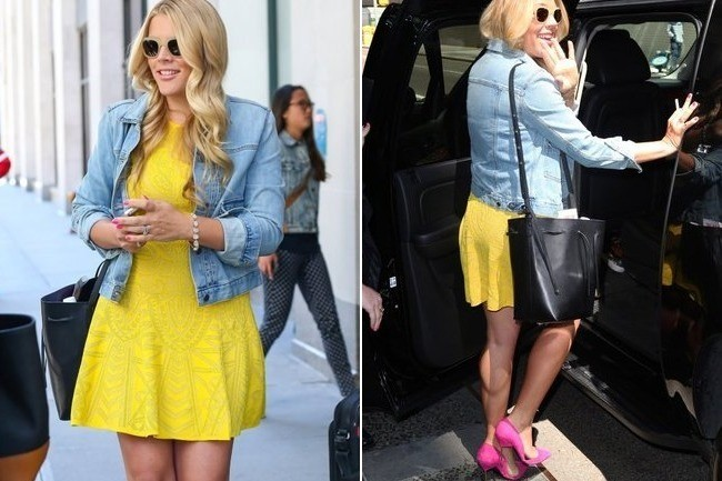 Look of the Day: Busy Philipps' Sunny Ensemble