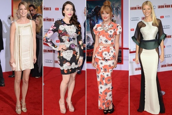 Best Dressed at the 'Iron Man 3' Hollywood Premiere