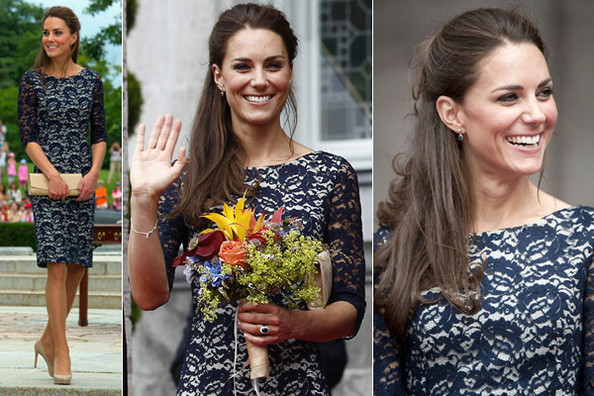 Look of the Day: Kate Middleton in Erdem
