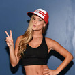 Nina Agdal Gets Sporty