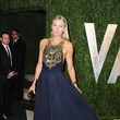 Maria Sharapova Wore Amanda Wakeley at the Vanity Fair Oscars Party 2013