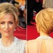 Gillian Anderson's Fabulous French Twist