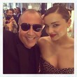 Miranda Kerr Cozies Up to Michael Kors
