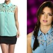 A Criss-Cross Cutout Blouse Like Kendall Jenner's on 'Keeping Up With the Kardashians'