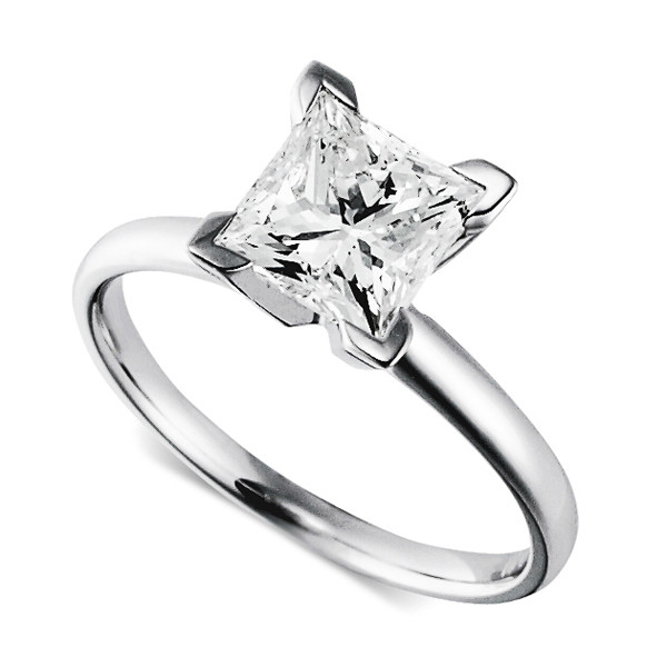 The Princess Cut Solitaire Ring 200 Gorgeous Engagement Rings to Obsess Ove