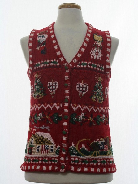 A Very Merry Vest
