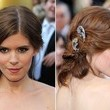 Kate Mara's Side-Swept Updo