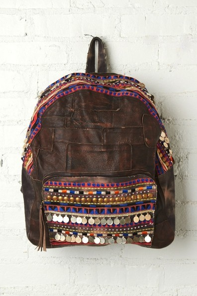 An Embellished Backpack