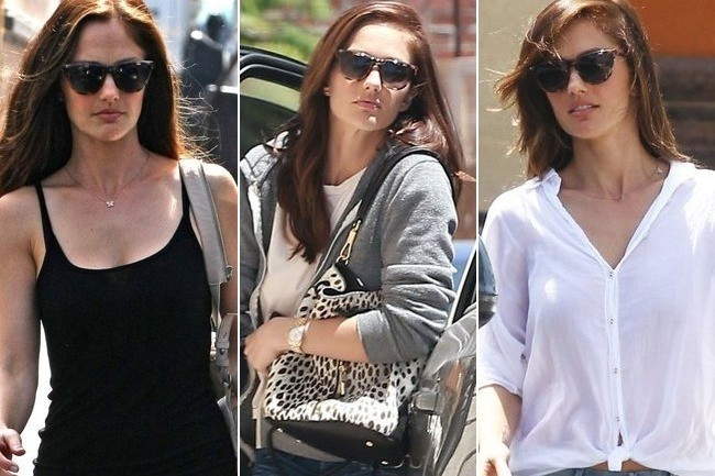 Found: Minka Kelly's Cat-Eye Sunglasses