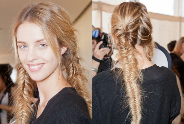 7 Best Hairstyles For Spring : Tory burch spring best runway hair stylebistro
