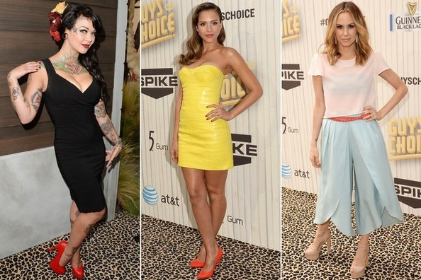 Best Dressed at Spike TV's Guys Choice 2013