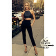 Candice Swanepoel Perfects Black for Spring