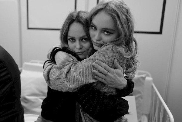 Vanessa Paradis and Lily-Rose Depp
