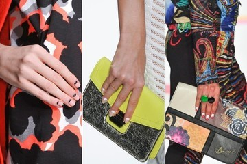 Spring Beauty Trend: Half-Moon Manis