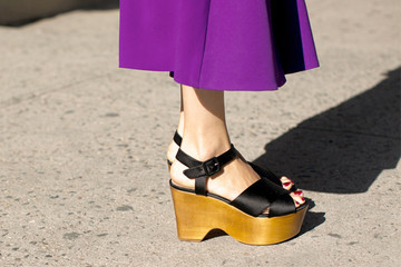 Street Style Spotlight: Sky-High Platforms