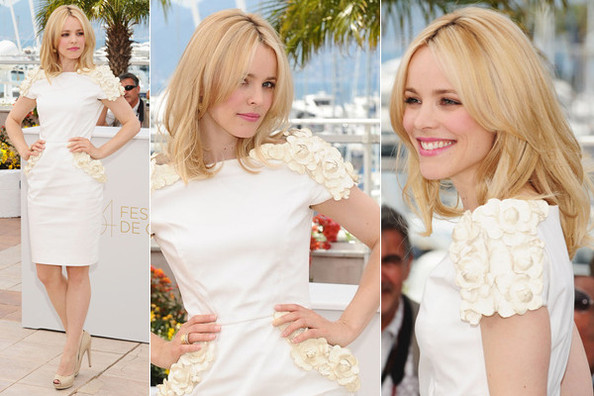 Look of the Day: Rachel McAdams in Maxime Simoens Couture