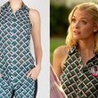 Jaime King's Patterned Top on 'Hart of Dixie'