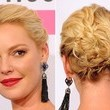 Katherine Heigl's Triple Twisted & Braided Updo