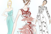 The Most Stunning Spring 2013 Gowns Illustrated