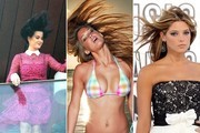 Celebs with Hair in the Air