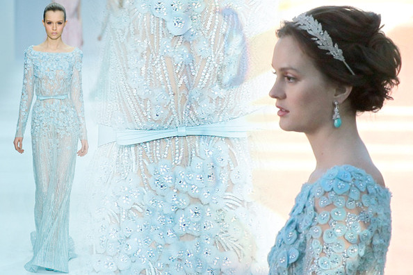 'Gossip Girl' Fashion Sneak Peek: Leighton Meester Wears Elie Saab Couture