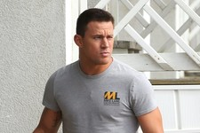 Channing Tatum Films 'Magic Mike XXL'