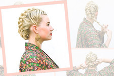 DIY a Braided Fauxhawk in No Time