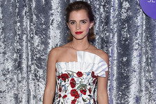 Emma Watson Was a Walking Rose at the White House Correspondents' Dinner