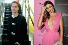 Angelface Chillah? Miranda Kerr and Snapchat Founder Evan Spiegel Might be Dating