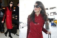 Amal Clooney Travels in Style