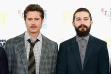 Brad Pitt and Shia LaBeouf Are Serious About Their Facial Hair