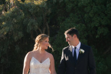 Amy Schumer's Stunning Wedding Gown