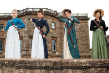 First Look at the Badass Bennet Sisters of 'Pride and Prejudice and Zombies'