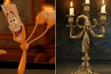 First Look: Lumiere & Cogsworth in the Live Action 'Beauty & the Beast'!